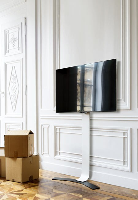 erard standit pro bohrlose tv wandhalterung max 50kg. Black Bedroom Furniture Sets. Home Design Ideas