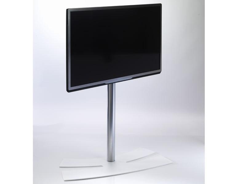 Erard Lux Up 1050l Tv Standfuß Weiß Fernsehständer